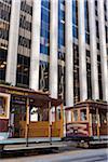 California St. Cable Cars, San Francisco, California, USA