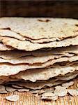 Close-up of crispy bread