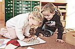Children In Nursery School, Kottgeisering, Bavaria, Germany, Europe