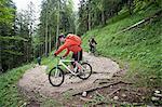 Mountainbiking, Schwangau-Bleckenau, Bavaria, Germany