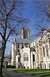 Canterbury Cathedral, UNESCO World Heritage Site, Canterbury, Kent, England, United Kingdom, Europe