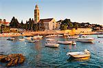 Franciscan Monastery, Hvar Town, Hvar Island, Dalmatian Coast, Adriatic, Croatia, Europe
