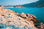 Korcula Island, Korcula Town at sunrise, Dalmatian Coast, Adriatic, Croatia, Europe