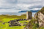 Remains of a monastery at Selje, Nordland, Norway, Scandinavia, Europe