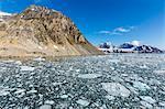 Gnalodden cliff, Hornsund, Spitsbergen, Svalbard Archipelago, Norway, Scandinavia, Europe