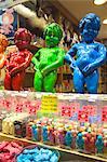 Manneken Pis display in a sweet shop, Brussels, Belgium, Europe