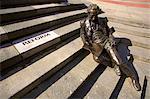 Statue of Thomas Attwood, Chamberlain Square, Birmingham, West Midlands, England, United Kingdom, Europe