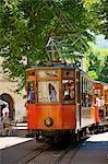 Tram, Soller, Mallorca, Balearic Islands, Spain, Europe