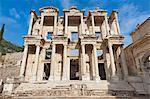 Celsus Library, Ephesus, Izmir Province, Anatolia, Turkey, Asia Minor, Eurasia
