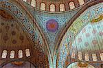 Interior, Sultan Ahmet Mosque (Blue Mosque), Istanbul, Turkey, Europe