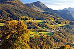 View of Berchtesgaden, Bavaria, Germany, Europe