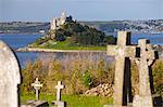 St. Michael's Mount, Cornwall, England, United Kingdom, Europe