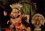 Balinese dancer, Ubud, Bali, Indonesia, Southeast Asia, Asia