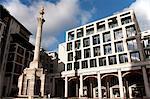 Paternoster Square Column, Paternoster Square, City of London, England, United Kingdom, Europe