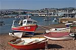 Harbour view, Teignmouth, Devon, England, United Kingdom, Europe