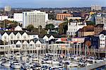 Town Quay and yacht marina, Southampton, Hampshire, England, United Kingdom, Europe