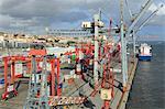 Santo Amaro Dock, Lisbon, Portugal, Europe