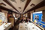 The Hiram Bingham train to Aguas Calientes, Peru, South America