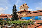 Clock Tower, Binh Tay Market, Cholon, Chinatown, Ho Chi Minh City (Saigon), Vietnam, Indochina, Southeast Asia, Asia