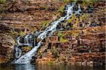 Fortescue Falls, Dales Gorge, Karijini National Park, The Pilbara, Western Australia, Australia
