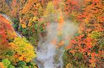Oyasu Gorges hot spring, Akita Prefecture