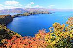 Lake Towada in Autumn, Aomori Prefecture