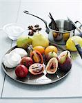 Fruit ingredients for making meringue