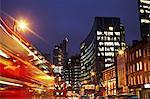 Night scene, London, England, UK