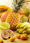 Exotic fruit composition