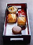 Snack on a tray by Dalloyau