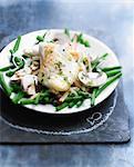 Crisp fish salad