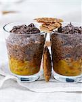 Chocolate-passion fruit Verrines