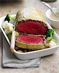 Beef fillet in oatmeal crust