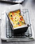 Provençal-style vegetable loaf cake
