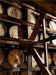 Barrels of Maker's Mark Bourbon
