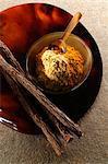Licorice sticks and ground licorice