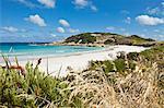 Australia, Western Australia, Esperance.  View across coastal dunes to Twilight Cove.