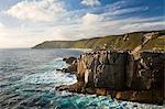 Australia, Western Australia, Albany, Torndirrup National Park.  Rugged coastline at The Gap.