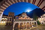 Europe, Bulgaria, Rila Monastery, Nativity Church, Unesco World Heritage Site