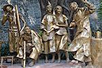 Statues at Chen Clan Academy, Guangzhou, Guangdong, China