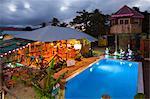 Dominica, Calibishie. Poz Restaurant and Bar.