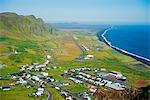 Iceland, southern region, Vik, coastal scenery