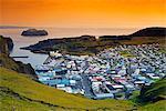 Iceland, Vestmannaeyjar, volcanic Westman Islands, Heimaey Island, harbour