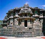 Asia, India, Karnataka.  Belur, Chennakesava Temple.