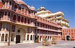 Asia, India, Rajastan, Jaipur.  City Palace.