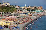 Northern Italy, Italian Riviera, Liguria, Genova. The Lido
