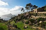 Cloister Ruins, Sa Trapa, near Sant Elm, Majorca, Balearics, Spain