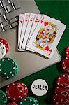 Online poker portrait