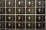 Numbered safe at bank