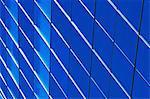 Blue glass modern building